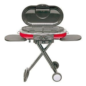 Road Trip Grill - $159.99 // Collapsible grill - awesome for home, camping, tailgating, beach or pretty much anywhere outside.