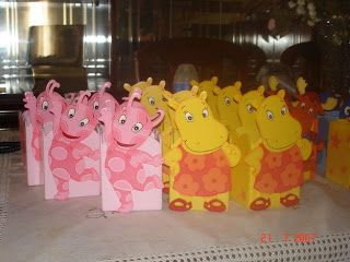 Backyardigans party ideas with printables