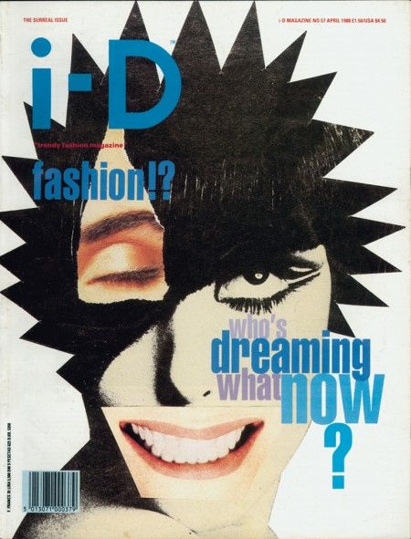 57. The Surreal Issue April 1988    Cover by Judy Blame