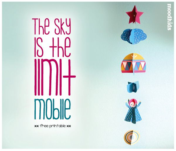 Vandaag hebben we weer een leuke zelfmaker voor je! Een gratis printable Mobile om de kinderkamer mee op te leuken. Hang hem boven het bed, aan de muur of aan een kastknopje. Je kunt de afzonderlijke figuurtjes natuurlijk ook gebruiken om mee te knutselen of een pakje te versieren. Dit heb je...