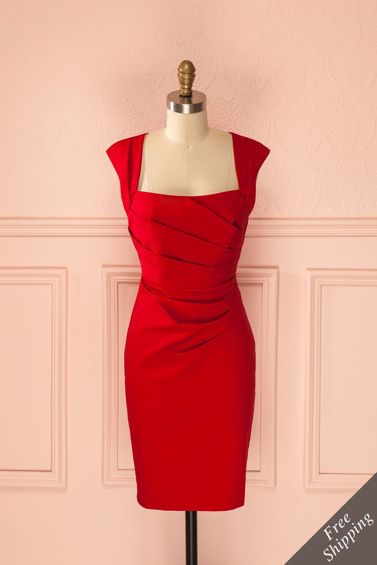 Lovisa ♥ Voici qu'approuverai Joan Holloway de Mad Men: écarlate, seyant et classieux. Here's something Mad Men's Joan Holloway would approve: scarlet, flattering, classy.