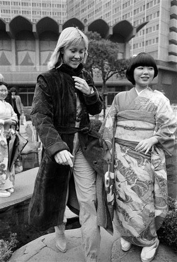 Agnetha ABBA in Japan