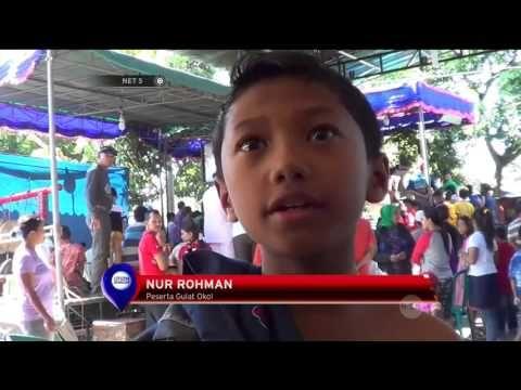 Kemeriahan Tradisi Unik Lomba Gulat Anak di Surabaya - NET5