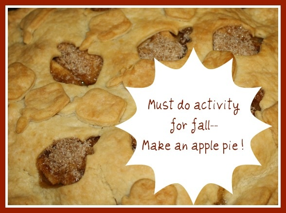 Make an apple pie together on Buggy and Buddy