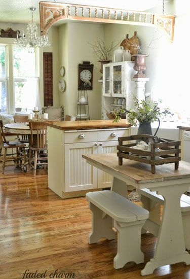 45 best images about home decorating on pinterest for Country living kitchen designs