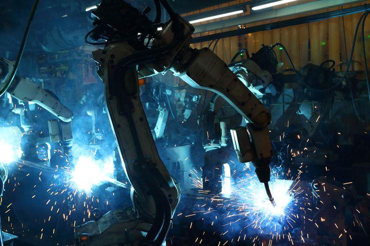 Industrieroboter +++ Trockeneisreinigung +++ NEU