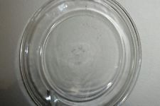 """Pyrex Pie Pan Plate Round Baking Dish Ovenware Clear Glass #209 Flat Rim 9"""""""