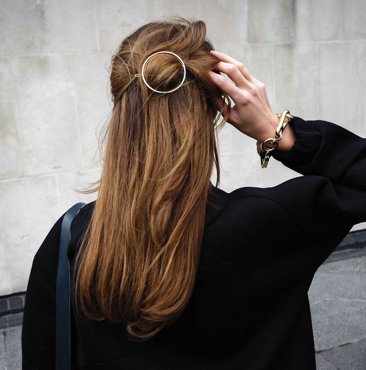 Celine Inspired Hair Brooch. #thecoveteur #fashion #trends #hair @wonderhoney