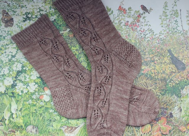 839 best knit inspirations images on pinterest african flowers ravelry woodland walk socks pattern by this handmade life fandeluxe Choice Image