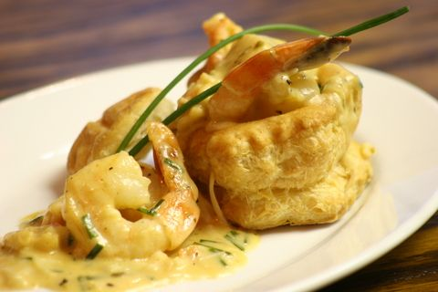 Coronation Shrimp Vol-au-Vents