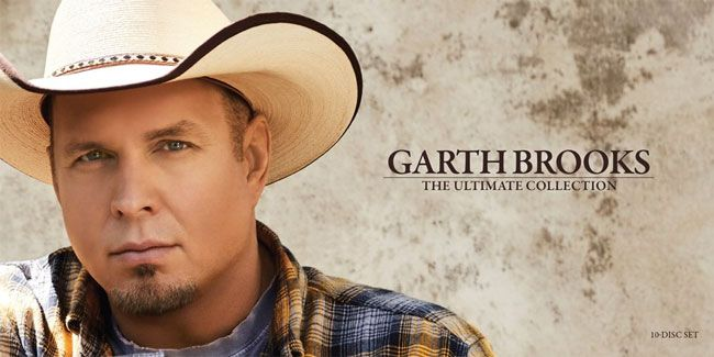 #1 album the last week of December 2016 and the first two weeks of January 2017: Garth Brooks - The Ultimate Collection