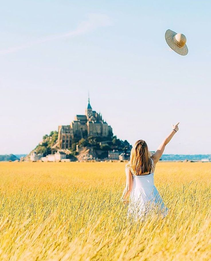 by @wonguy974  Hats off to #montsaintmichel  Tag #yoursoulisyourcompass to show us your amazing places!