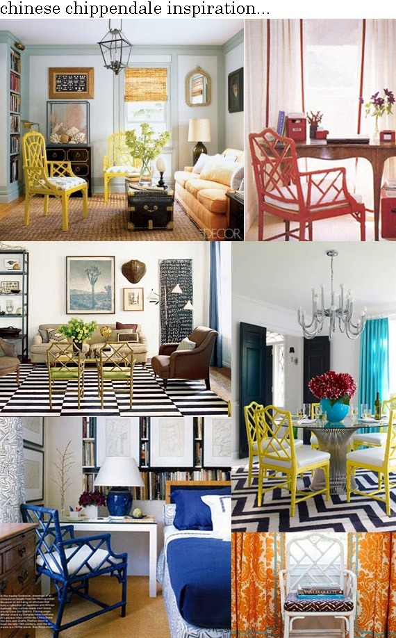 chinese chippendale chair inspiration