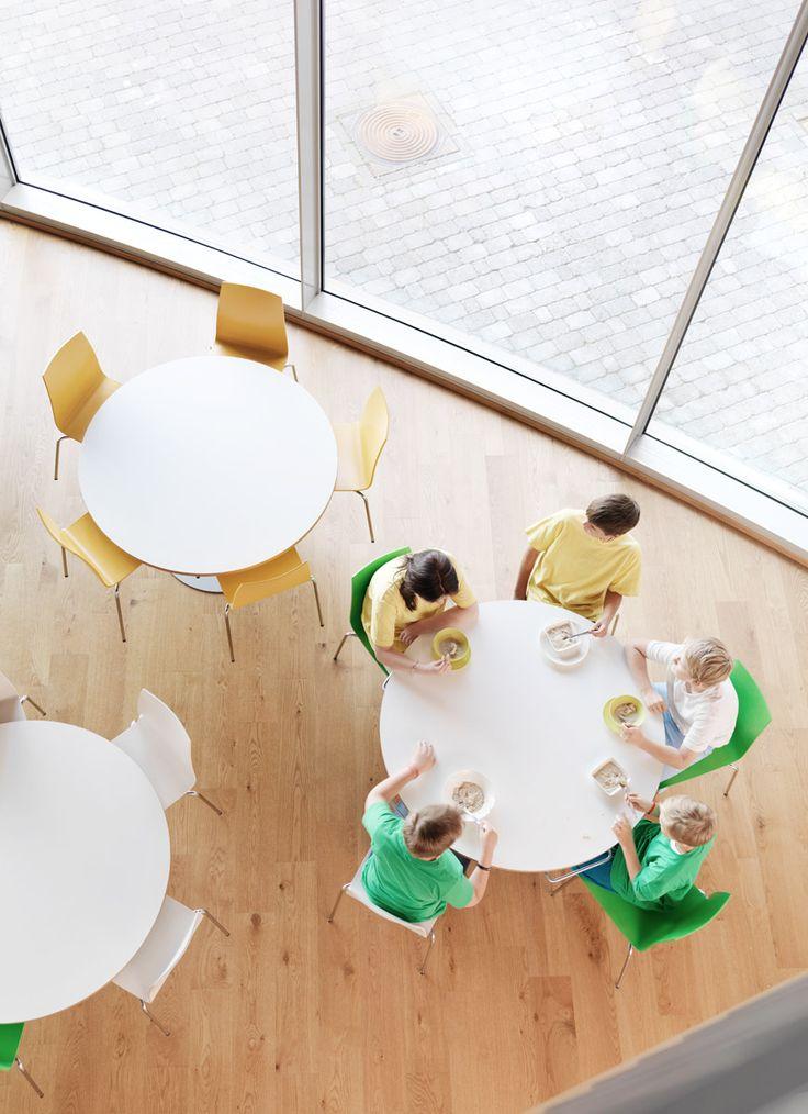 Round table at Inspiring School in Kirkkojärvi