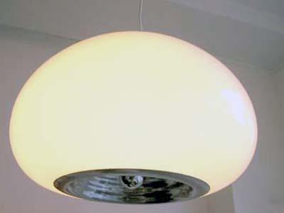 Castiglioni for Flos - 'Black & White' lamp (1965, Italy)