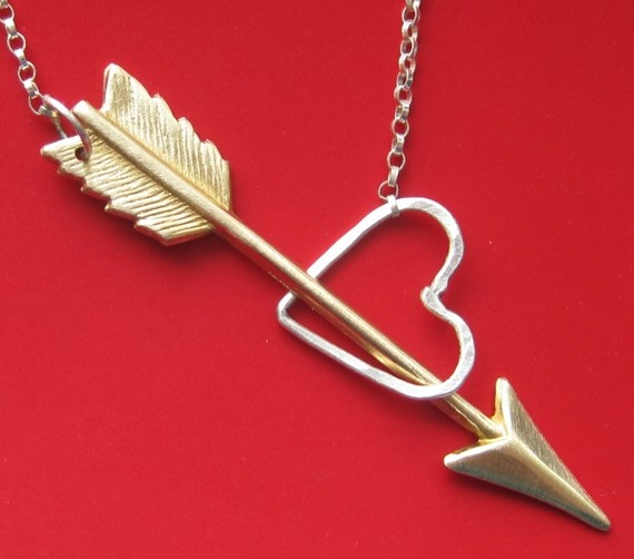 Shot Through the Heart Lariat by sudlow on Etsy, $40.00