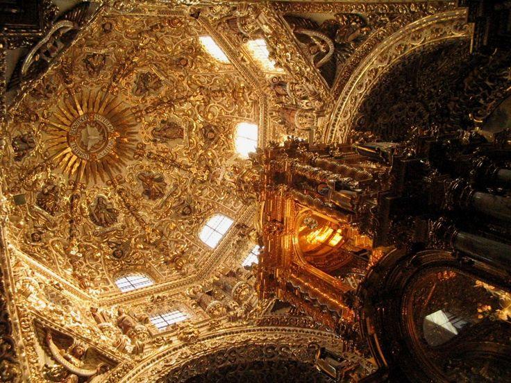 Capilla del Rosario, Puebla Mexico: Beautiful Places, Puebla Mexico, Places I D, Santo Domingo, Pictures, Places Od, Places Of Worship