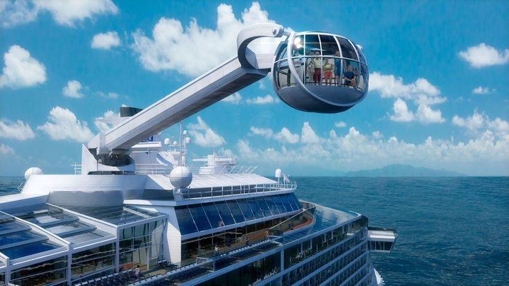 "Self-described as the ""WOW"" cruise, Quantum of the Seas beckons the thrill-seeker. The North Star, Royal Caribbean's signature observation pod, towers 300 feet above the water and promises 360-degree panoramic views à la the London Eye. The RipBord by iFLY is the first ever skydiving simulator aboard a cruise ship, and the onboard Seaplex is host to basketball courts, rollerblading, and a bumper car arena."