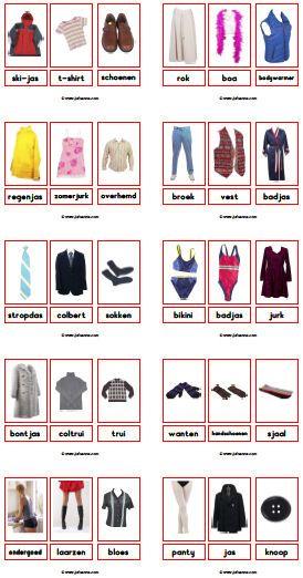fotowoordkaarten » Juf Sanne. Puk & kleding