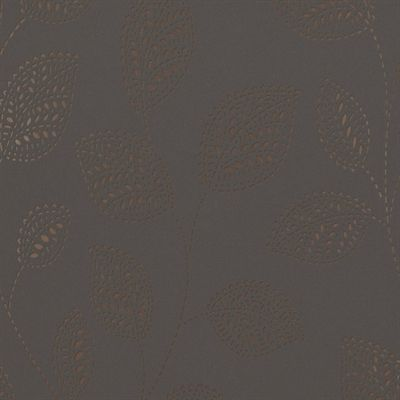 Walls Republic R412 Contemporary Dashed Leaves Wallpaper