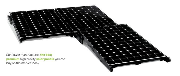 SunPower Solar Panels Roof Melbourne Australia Victoria