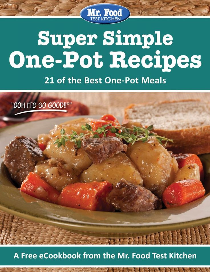 Super Simple One Pot Recipes Free Ecookbook