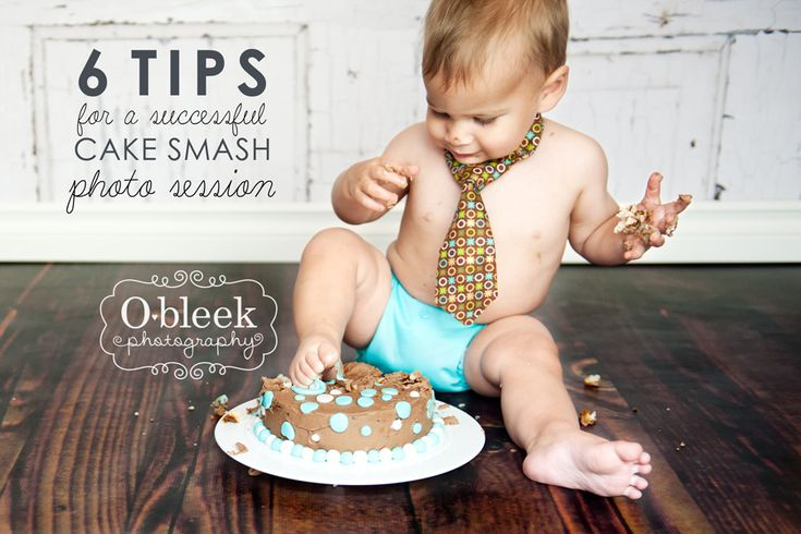 6 tips for a successful cake smash photo session (for parents and/or photogs)
