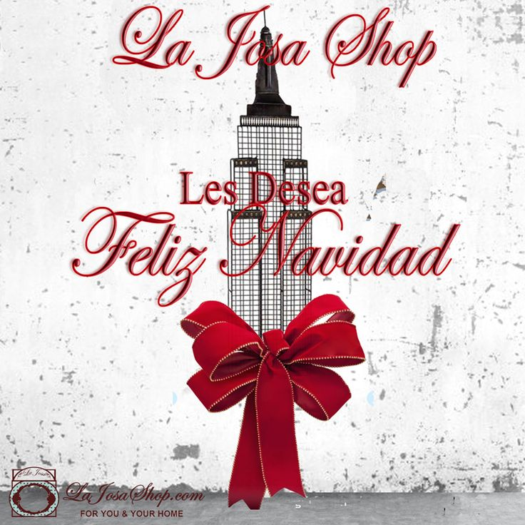 La Josa Shop(deco) les desa Feliz Año Nuevo/Happy New Year
