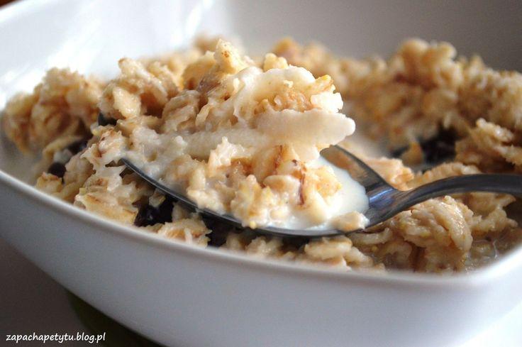 Apple honey oatmeal #zapachapetytu #oatmeal #breakfast