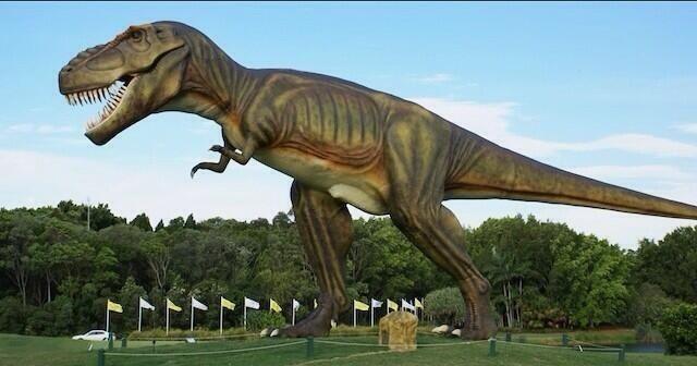 Real-Life Jurassic Park Opens On Australia's Sunshine Coast
