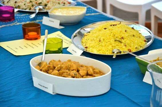 A NEW BUFFET / A NEW INDIAN BIRTHDAY PARTY ~ UN NUOVO BUFFET / UNA NUOVA FESTA INDIANA DI COMPLEANNO  * India At Your Home * #indiaatyourhome #india #indianparty #birthday #birthdayparty #indianattraction #quality #buffet #florence #firenze #table #colors #instagood #picoftheday #kerala #keralafood #lemonrice #pulishery #chickenbiryani #raita #pappadam #basheerkuttymansoor #excellentfood #indianfood