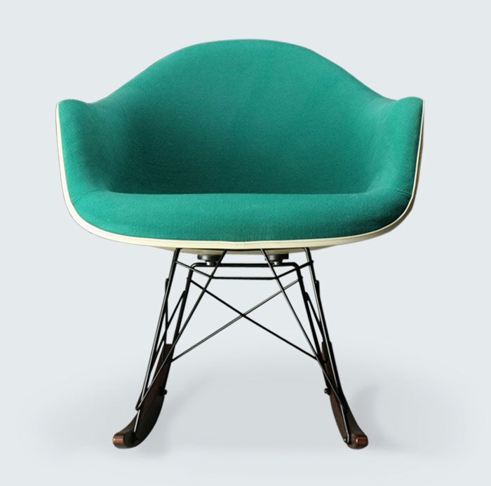 1000 images about chairs on pinterest eero saarinen for Fauteuil eames rocking chair
