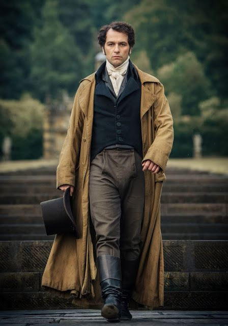 Matthew Rhys as Mr. Darcy in Death Comes to Pemberly, based on the novel by P D James