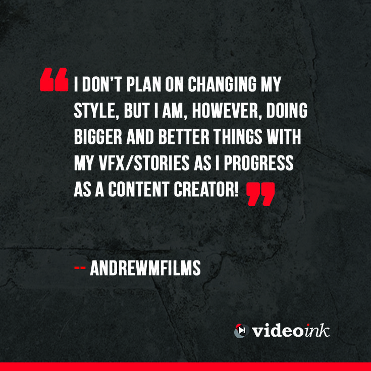 As creators grow that doesn't mean their style has to change. Creators will look for a way to improve their content so viewers always return to their channel. Read what Andrew Films had to say about it. http://www.thevideoink.com/features/vidcon-voices-andrewmfilms/#.VGJp6Ie0rSF #andrewfilms #vidcon2014 #youtube #creators #content