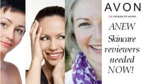 AVON ANEW Skincare Reviewers wanted now!