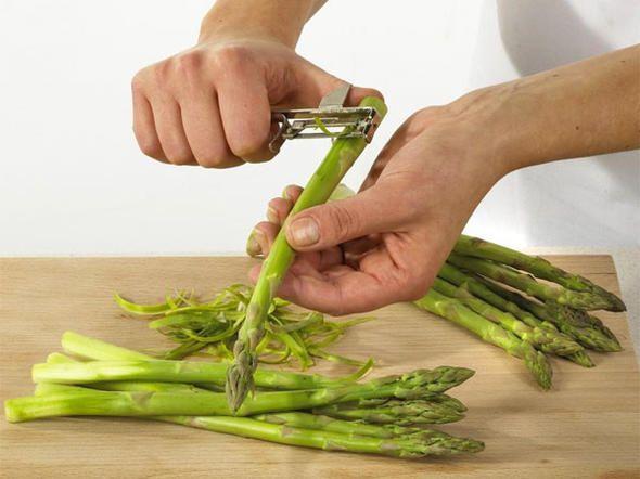 Zubereitung grüner Spargel - Tipp 1: