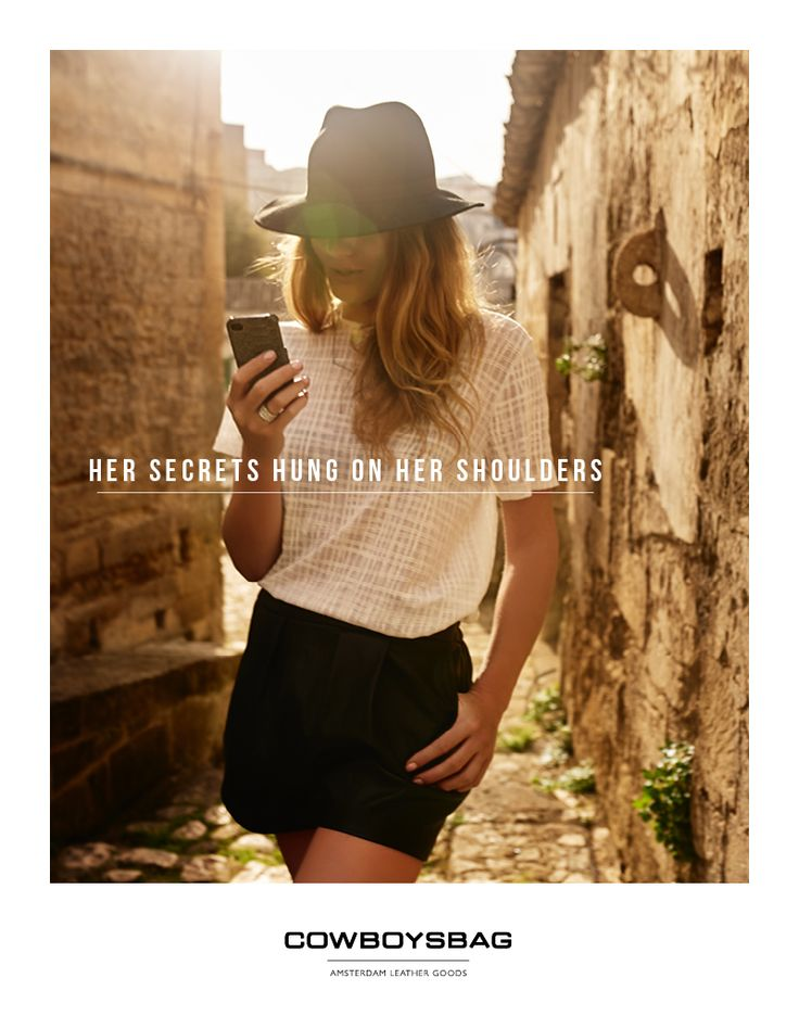 Cowboysbag | Her secrets hung on her shoulders - Spring Summer 2015, Iphone 5 Hard Cover 1612