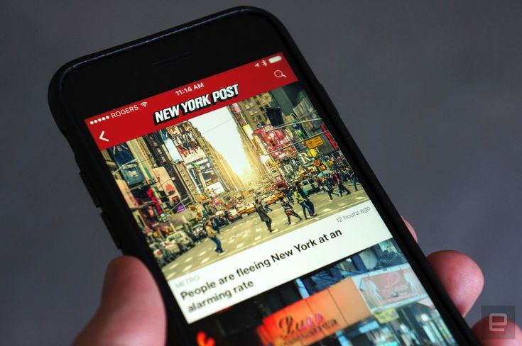 New York Post's mobile news alerts fall victim to a hack