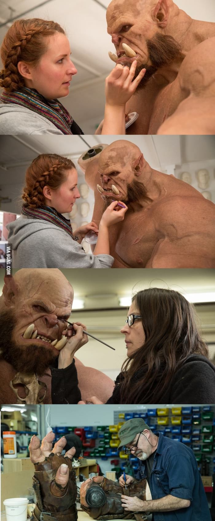 Warcraft Movie: Behind the Scenes - 9GAG
