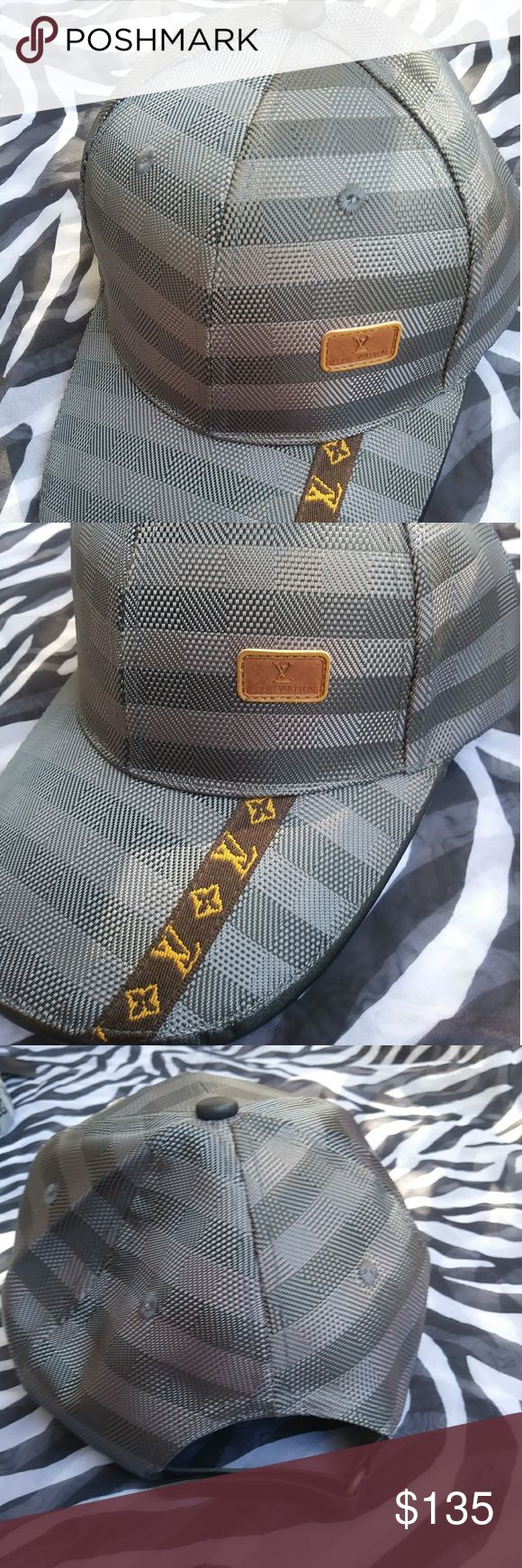 LOUIS VUITTON BASEBALL cap unisex New with tag no/ with adjustable Louis vuitton hat unisex Louis Vuitton Accessories Hats