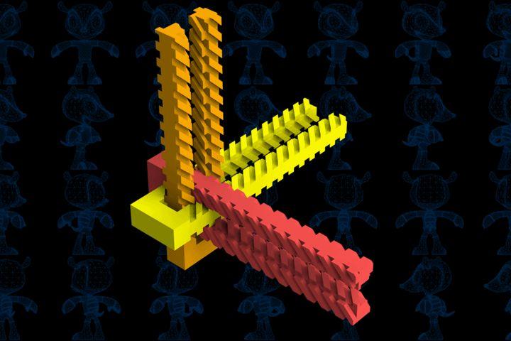 Linear Gears Mechanism - SOLIDWORKS,STEP / IGES,Parasolid - 3D CAD model - GrabCAD