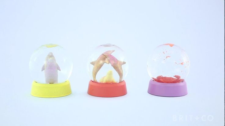 How to Make Summer Snow Globes                                                                                                                                                                                 More