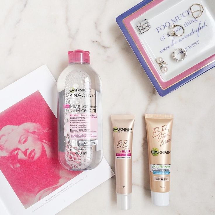 "PEARLSCARAMEL ""Discovering the new micellar water by @garniercan. Have you tried it yet?"""
