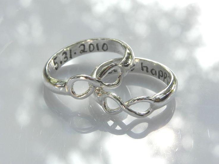 infinity couple ring rings pinterest infinity rings