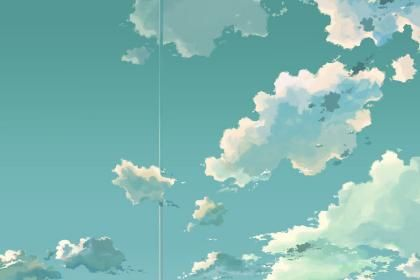 beyond the clouds makoto shinkai the place promised in our early days artwork clouds wallpaper HD Wallpaper. Free HQ Wallpaper.