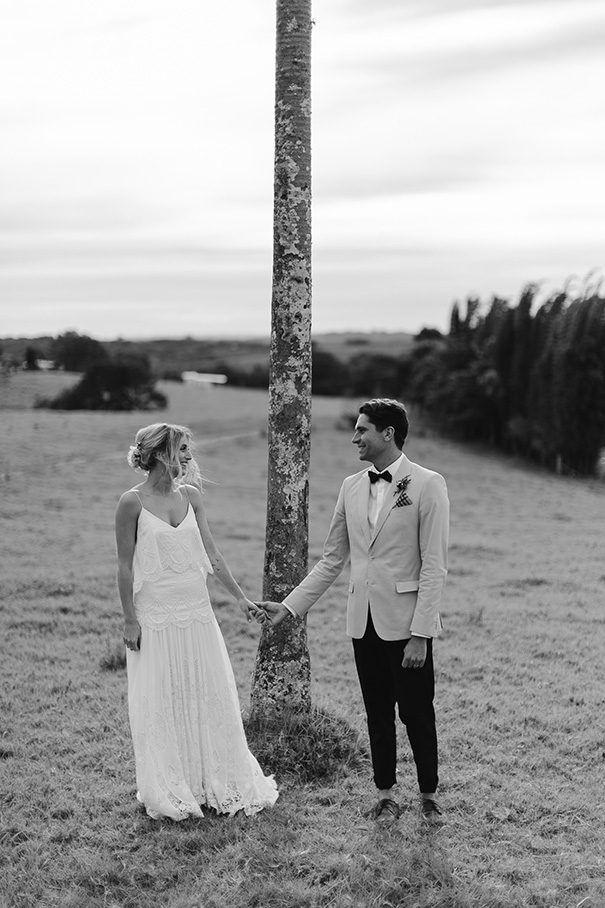 CAMILLE + JESSE // #wedding #bride #groom #realwedding #byronbay #elegant #ruedeseine #ceremony #reception