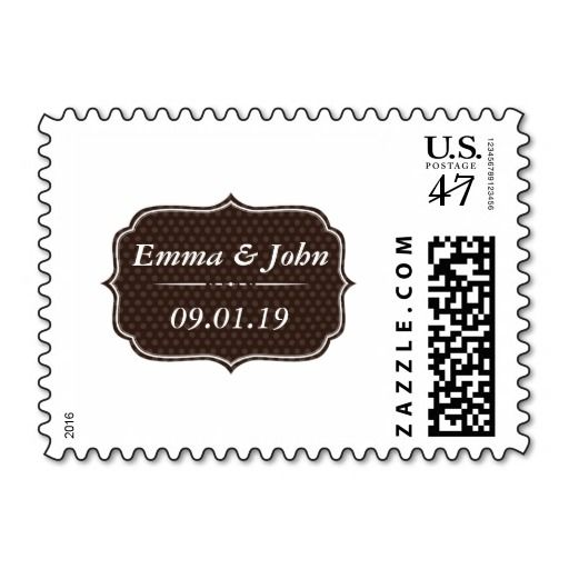 Elegant Wedding Postage