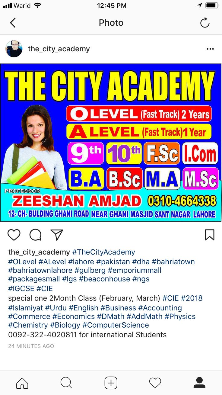 #TheCityAcademy  #OLevel #ALevel  #IGCSE #CIE #2018  Home Schooling and online Teaching Offers . special one 2Month Class (February, March) #CIE #2018 #Islamiyat #Urdu #English #Business #Accounting #Commerce #Economics #DMath #AddMath #Physics #Chemistry #Biology #ComputerScience (All #ALevel Subjects Offers in #Pakistan) Teaching Team (#Engineers #Doctors #SoftwareEngineers)  Book your seat today Whatsapp 0092-322-4020811 for international Students 0322-4020811 for local Students