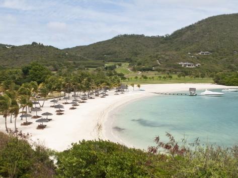 honeymoon landscape for our master bedroom!!!   Canouan Resort at Carenage Bay, Canouan Island, St. Vincent and the Grenadines, Windward Islands
