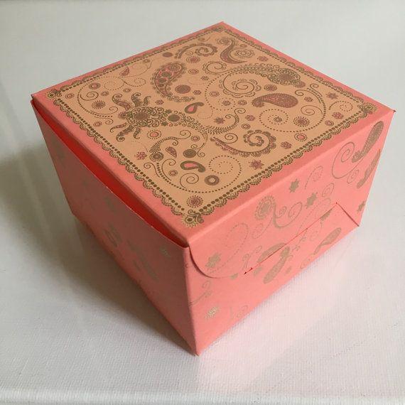 X X Cake Wedding Favors Boxes